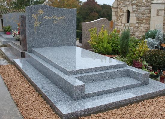 Granit Gris du Tarn poli